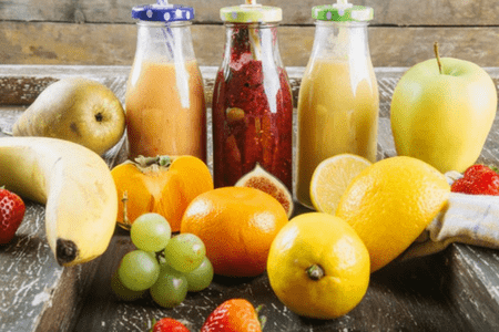 Weight loss smoothies and detox drinks