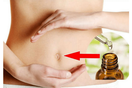 Health benefits of applying oil to the belly button